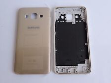 GENUINE Original Replacement Battery Door Back Cover Case for Samsung A3 (GOLD)