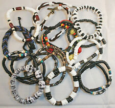 BRACELETS - 60 x assorted Mens styles - 50 cents each