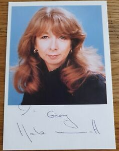 Helen Worth English Actress plays Gail Platt in Coronation St.hand signed photo