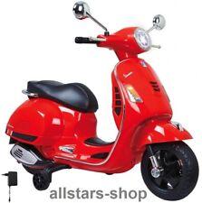 Jamara Kinder-Motorroller Ride On Vespa Motorrad Scooter mit E-Motor rot