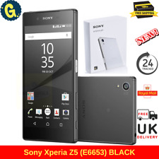 "Brand New Sony Xperia Z5 32GB Black 4G 5.2"" Unlocked Simfree Android Smartphone"