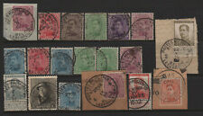 Belgium Early Military Cancel Lot Most WWI