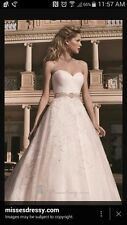 Casa blanca wedding dress size 14 unaltered