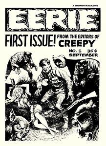Eerie Magazine #1 Photocopy REPLICA Ashcan Comic Book