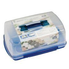 10L rectangulaire poignée lock & lock boîte de gâteau avec amovible cupcake plateau 4043