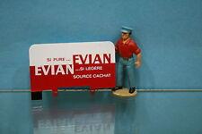 """CIJ051 - Ridelle Ar. peinte et décorée pour Renault 2,5T """"Evian"""" CIJ 3/94"""