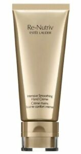 SEALED Estee Lauder Re-Nutriv Intensive Smoothing Hand Creme Cream 3.4oz / 100ml