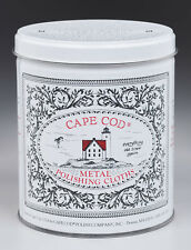 Cape Cod  Vanilla Scent Metal Polish  12  Cloth