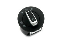 Matt Chrome Euro Headlight Switch For VW Golf GTI MK5 MK6 CC Tiguan