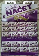 great100 Double Edge Razor Blades Gillett NACET Stainless Russia Men's Razors