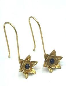 Earrings Amethyst 925er Silver