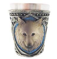 Vasos Fantasy Con Lobo Gris tipo1, 4 Piezas
