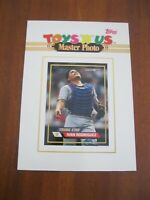 Ivan Rodriguez - TOYS R US -  MASTER PHOTO Topps Trading Card / Photo 1993
