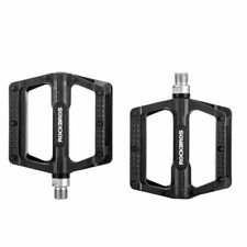 "RockBros Bike Bicycle Bearing Pedal Cycling Nylon Pedals 9/16 "" a Pair Black"