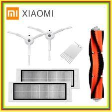 Original 2 Side Brushes+ 2 Filter+Roller brush Xiaomi Robot Vacuum Cleaner Spare
