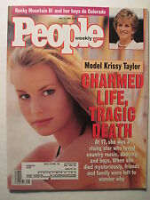 People Magazine 7-31-1995. Krissy Taylor Dies! Princess Diana! Promise Keepers!