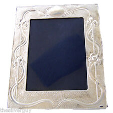"SILVER PICTURE FRAME. 8"" x 6"" sight area. HALLMARKED STERLING SILVER PHOTO FRAME"