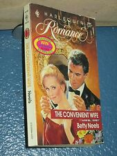 The Convenient Wife by Betty Neels *FREE SHIPPING*  9780373199921