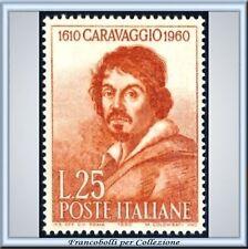 1960 Italia Repubblica Merisi Caravaggio n. 897 **