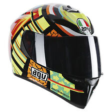 CASCO INTEGRAL AGV K3 K-3 SV SUPERIOR PLK - ELEMENTS - TAMAÑO XL + PINLOCK