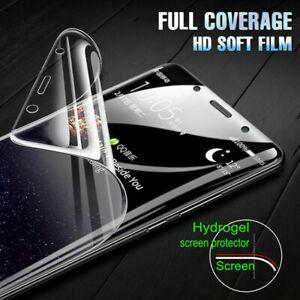 Screen Hydrogel Film For LG K12 Max K10 V50 V40 V30 G7 G8 Full Protective Film