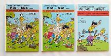 Lot Mini BD - Pic et Nic / Publicitaire Caprice des dieux / 1995-1997 / GREG /