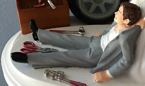 THIS IS ONLY A ADD ONE TO A ORDER ONLY    CAKE TOPPER CHANGE GROOMS JACKET COLOR