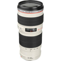 Canon EF 70-200mm F/4.0 L USM Lens CANON AUTHORIZED USA DEALER WARRANTY INCLUDED