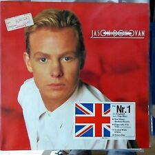 JASON DONOVAN LP TEN GOOD REASONS 1989 GERMANY VG++/EX OIS