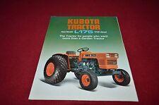 Kubota L225 Tractor Dealers Brochure YABE11