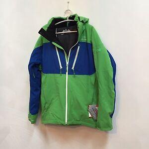 NWT Eider men's winter sports jacket DUNZEE Shamrock/Abyss/White XL List$479.