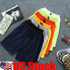 Summer Men Gym Sports Jogging Cotton Shorts Pants Trousers Casual Trousers USA