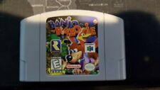 Banjo-Kazooie (Nintendo 64, 1998) Free Shipping Authentic Tested