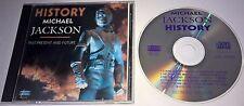 MICHAEL JACKSON History Past Present and Future RARE CD China E2K 59000 Pop