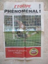 L'équipe 20 Mars 1996 BORDEAUX MILAN UEFA 96 vintage collection PHENOMENAL