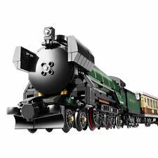 Technic Series Emerald Night Train Model Building Kits Block Bricks Toys for Chi