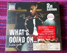 Eason Chan ( 陳奕迅 ) ~ What's Going On ... ? (Second Press) ( Malaysia Press ) Cd