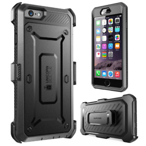 iPhone 6S Case, SUPCASE IPhone 6 Case / 6S 4.7 Inch Display Black