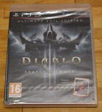DIABLO III REAPER OF SOULS - PLAYSTATION 3 PS3 PLAY STATION - PAL ESPAÑA - NUEVO