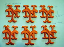 Lot of 6 New York Mets Iron On Patches