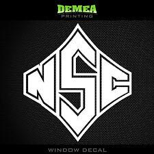 "North Carolina State Wolfpack - NCAA - White Vinyl Sticker Decal 5"""