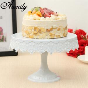Plastic Cake Stand Round Shelf European Decoration Tools Serving Dessert
