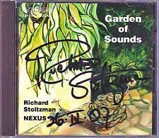 Richard STOLTZMAN Signiert NEXUS Garden of Sounds BIS CD Clarinet & Percussion