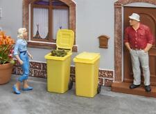 Pola 333225, pista G, 2 toneladas de basura, amarillo, plástico-kit, 1:22,5 (G)