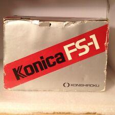 Konica FS-1 SLR w/ Hexanon AR 40mm f/1.8 - Vintage Near Mint!