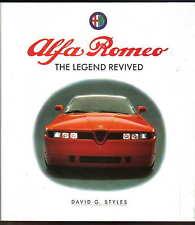 ALFA ROMEO LEGEND riesumato dagli stili 1930-1990 I MODELLI GRAND PRIX Mille Miglia +