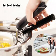Hiking Dish Pot Clamp Pan Gripper Clip Hot Bowl Holder Plate Retriever Tongs