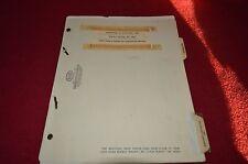 John Deere 400 Elevating Scraper Parts Book Manual MISC2