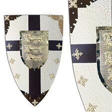 Medieval Renaissance Richard Lionheart Crusader Reenactment Costume Shield Armor