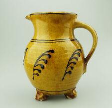 Hannah McAndrew British Studio Slipware Pottery Charming 11thC design Jug 20thC